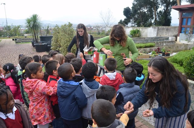 Niños participan en talleres ambientales en Santander