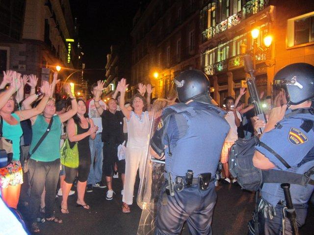Manifestación contra los recortes en Madrid