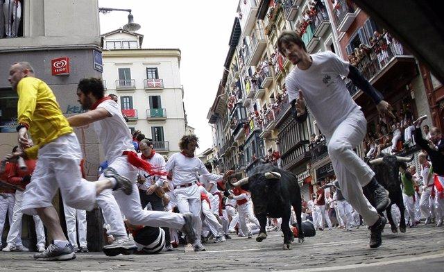 Encierros de San Fermín en Pamplona