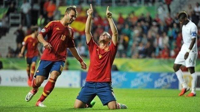 La selección española de futbol sub-19