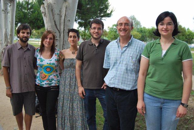 Grupo del investigador Jordi Llorens