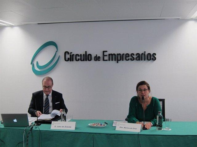 Mónica De Oriol Y John De Zulueta