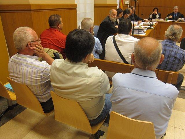Juicio contra el excalcalde de Torrelles,E.Torrents,por planear matar a susituto
