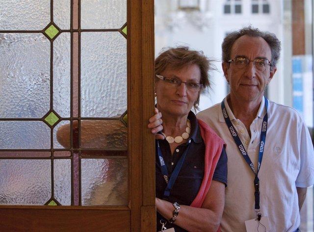 Angeles Monge y Enrique Gutiérrez