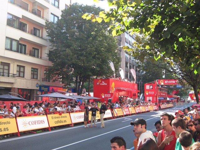 Vuelta Ciclista a su paso por Bilbao en 2011