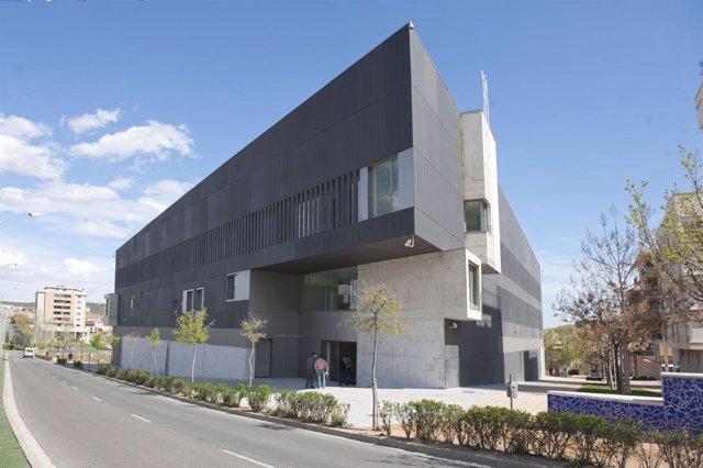 Imagen exterior de los Juzgados de Tudela.