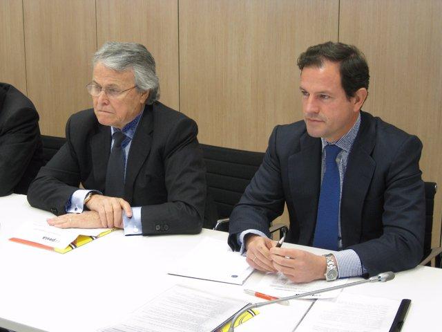 El Presidente Y El Secretario General De Cepesca