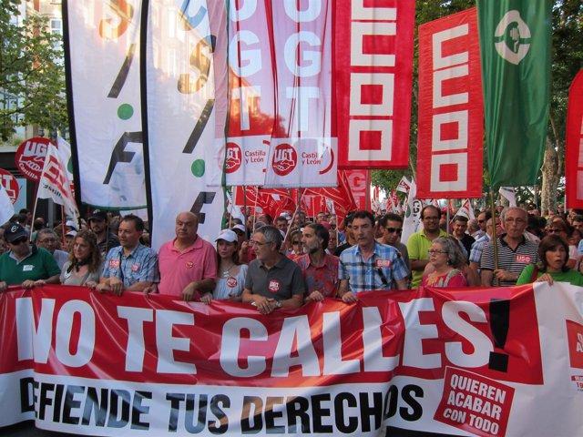 Manifestación Valladolid
