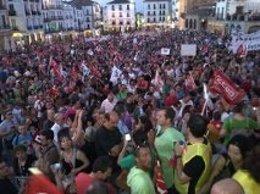 Manifestación Cáceres
