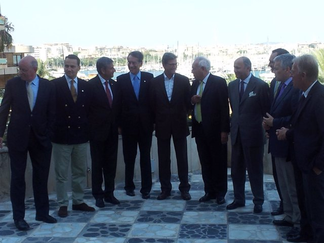 Reunión De Ministros De La UE En Palma De Mallorca