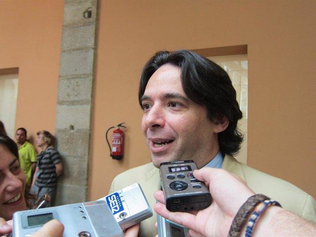 Percival Manglano, Consejero De Economía Y Hacienda