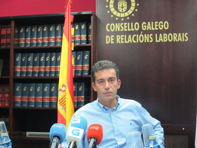 El presidente del Consello Galego de Relacións Laborais, Demetrio Fernández