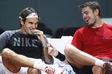 Roger Federer Y Stanislas Wawrinka