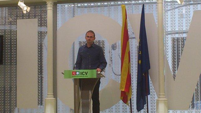El Secretario General De ICV, Joan Herrera.