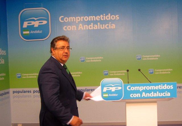 El Alcalde De Sevilla Y El Presidente Del PP Andaluz, Juan Ignacio Zoido