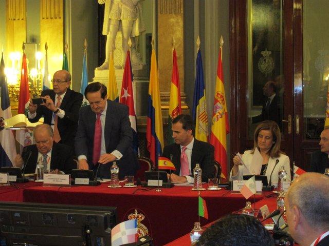 Acto Inaugural De VIII Conferencia Iberoamericana De Empleo Y Seguridad Social