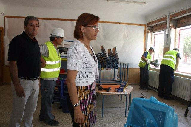 Nota Y Fotos Visitas Obras Plan OLA En Guadix Y Benelúa