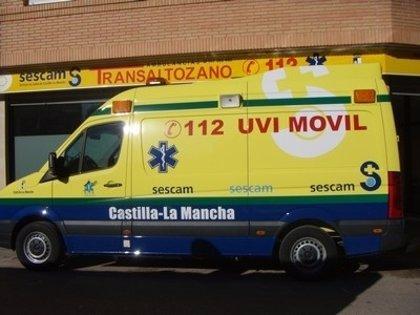 Trabajadores de Ambulancias Transaltozano protagonizan este martes una jornada de huelga