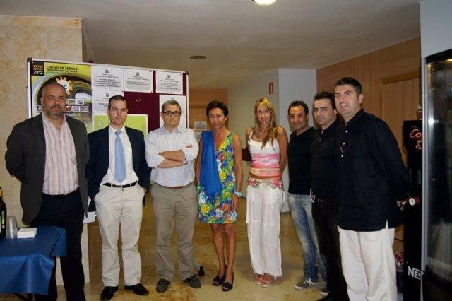 Participantes en el taller gastronómico