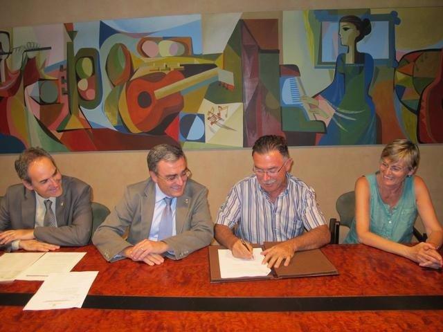Josep Presseger, Àngel Ros, Rafael Ferreruela Y Montserrat Sanfeliu