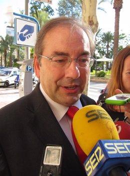 El Conseller De Sanidad, Luis Rosado