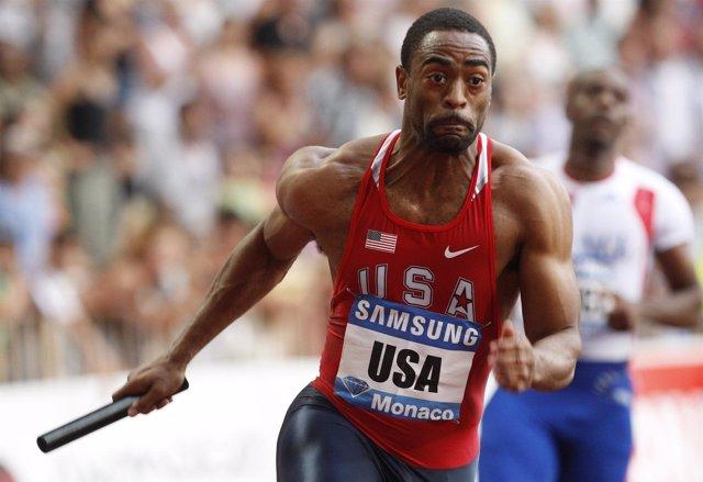 El velocista estadounidense Tyson Gay