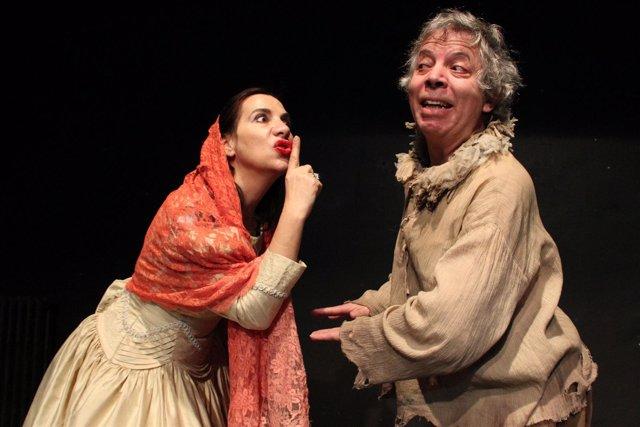 Escena de 'El médico de su honra' de Corsario Teatro