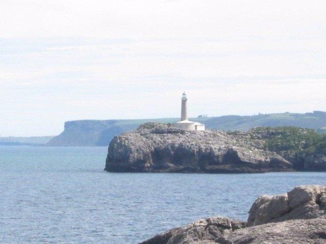 Isla De Mouro, Santander, Faro, Mar
