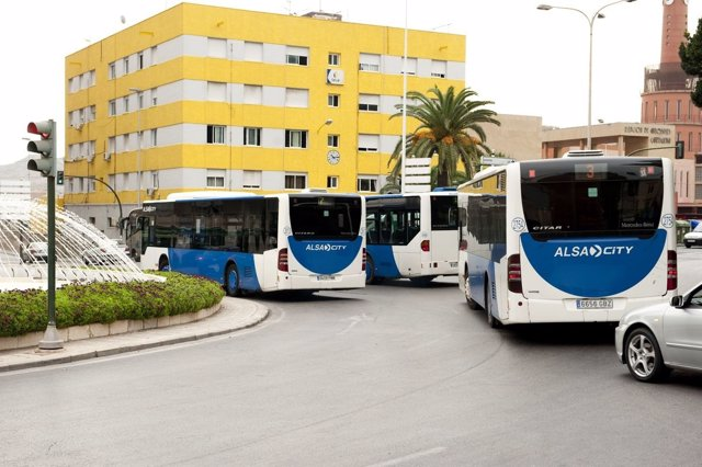 Autobuses Alsa City De Cartagena
