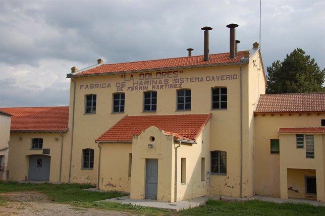 La Fabrica de Harinas 'La Dolores' posee una muestra arqueológica industrial