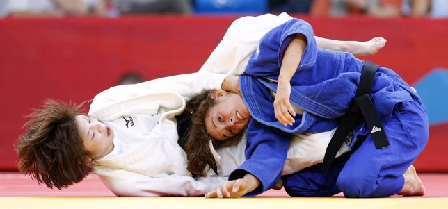 Oiana Blanco Tomoko Fukumi judo Juegos Olímpicos Londres