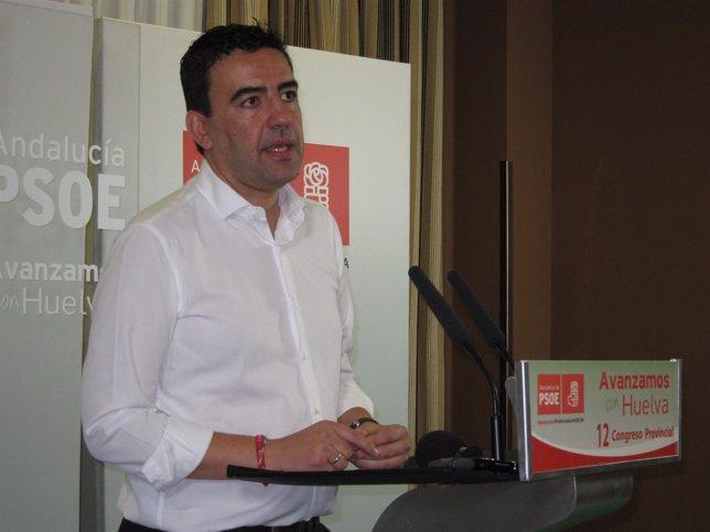 Mario Jiménez este sábado en Punta Umbría