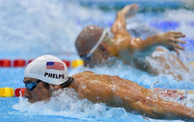 Michael Phelps eliminatorias 400 estilos Juegos Olímpicos Londres