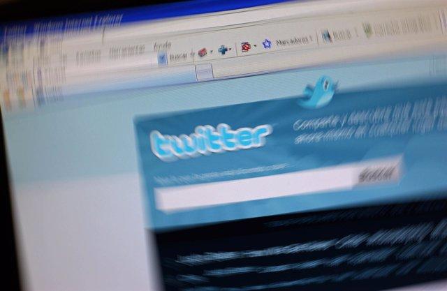 Pantalla de Twitter