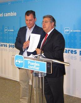 Juan Ignacio Zoido Y José Luis Sanz