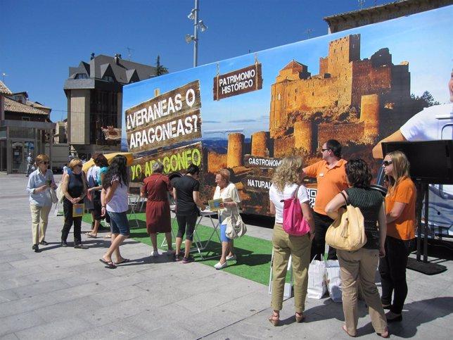 La campaña turística '¿Veraneas o Aragoneas?' recibe más de 10.000 consultas.