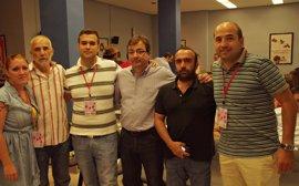 Luis Salaya, reelegido secretario general de JJ.SS de Cáceres con el apoyo del 100% de los votos emitidos