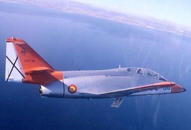 Imagen De Un Avión De Combate Del Ejército Del Aire