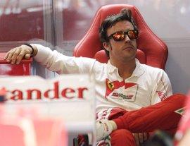 """Alonso: """"Lo importante es terminar por delante de Webber"""""""