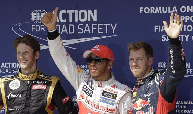 El piloto británico Lewis Hamilton