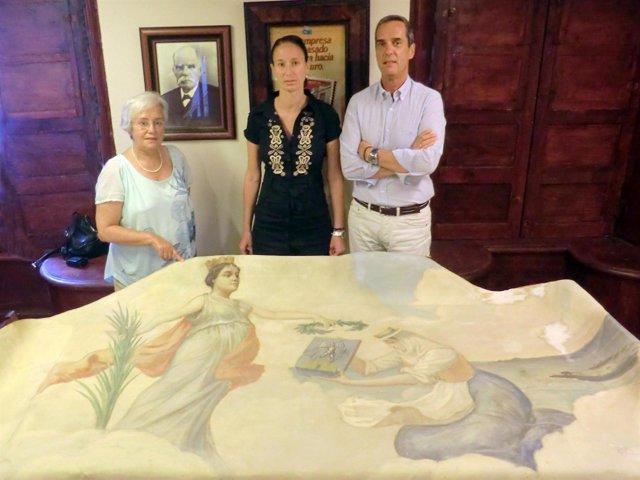 Alegoría De La Constitución Del Cabildo De La Palma