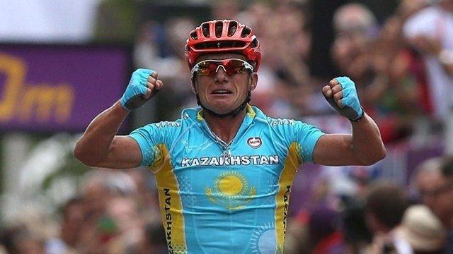 El kazajo Vinokourov, campeón en Londres
