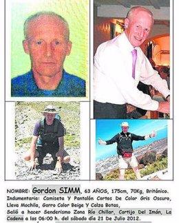 Senderista británico desaparecido en el entorno del río Chíllar