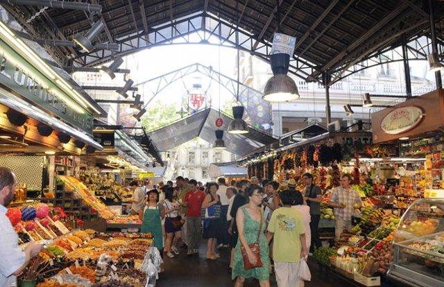 Mercado de la Boqueria de Barcelona