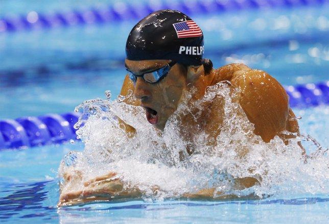 Michael Phelps pierde su primera medalla en Londres 2012