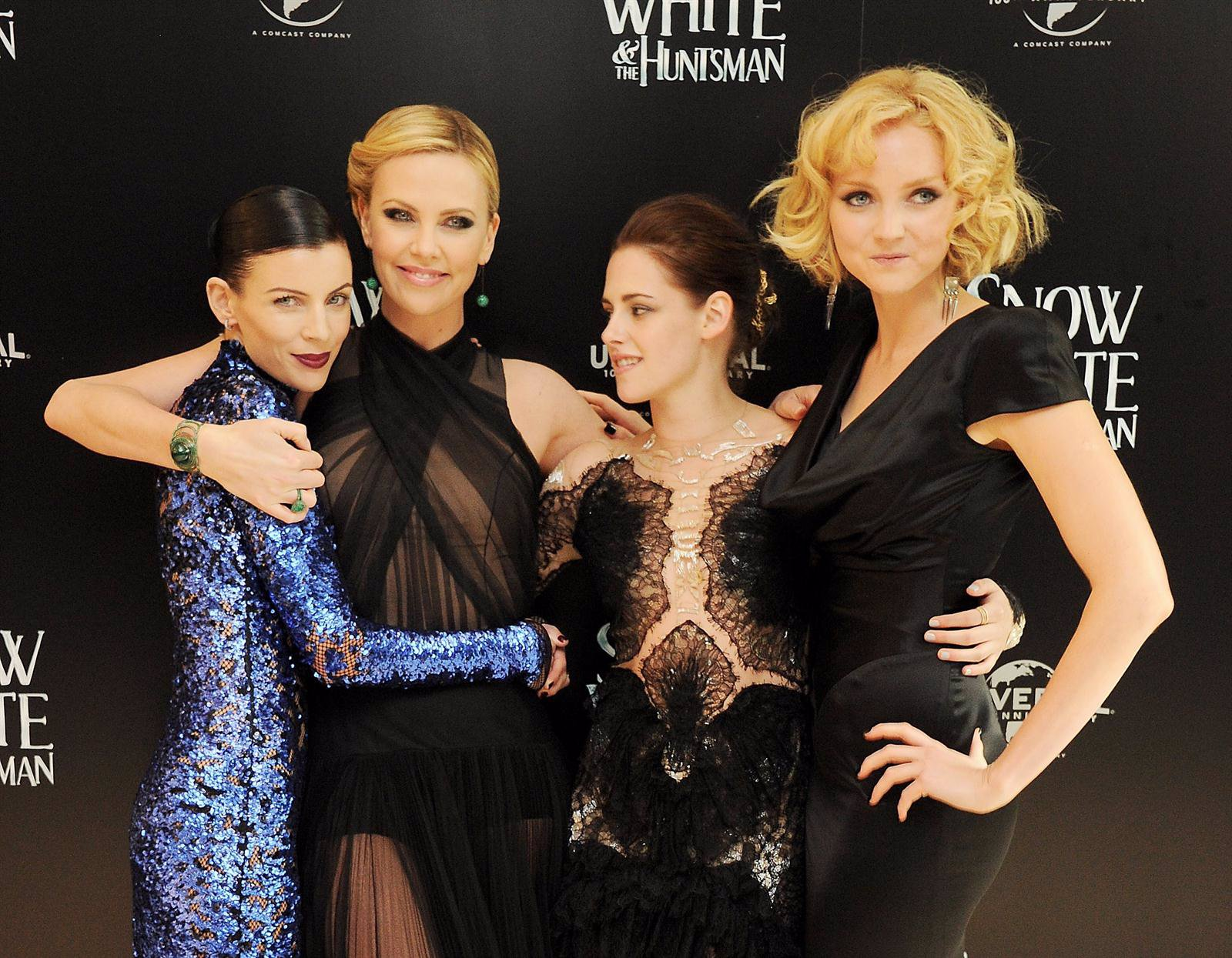 Charlize Theron, Kristen Stewart y Liberty Ross