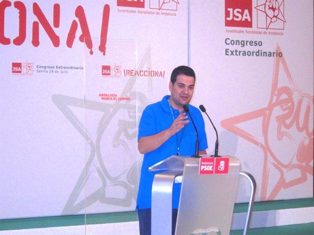El secretario general de Juventudes Socialistas de España, Nino Torre