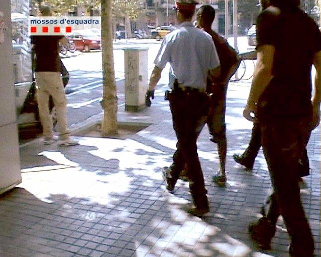 Detención de un grupo de ladrones