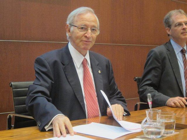 El Presidente De La Cámara De Barcelona, Miquel Valls