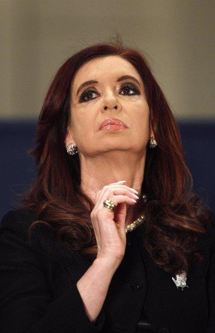 Cristina de Kirchner anuncia el pago de la última cuota del Boden 2012